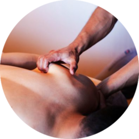 male pain relief massage